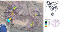 Assessment of dust activity and dust-plume pathways over Jazmurian Basin, southeast Iran