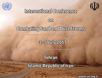 International Conference on Combating Sand and Dust Storms kicks off in Tehran