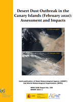 New WMO-GAW report: Desert Dust Outbreak in the Canary Islands (February 2020): Assessment and Impacts