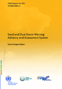 Publication of the WMO SDS-WAS Science Progress Report 2020