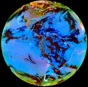 RGB dust product from Himawari-8 and GOES-16