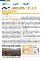 WMO releases the 2018 Airborne Dust Bulletin