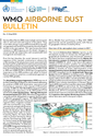 WMO releases the 2017 Airborne Dust Bulletin