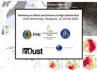 Workshop on Effects and Extremes of High Latitude Dust, Reykjavík, 13-14 Feb 2020: Abstract Submission is open